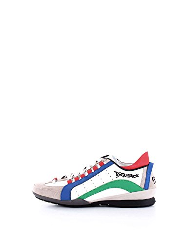 DSQUARED SNM0434 Sneakers Uomo Bianco 44