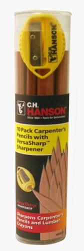 Preisvergleich Produktbild Carpenter Pencils Rohr von 10 VersaSharpÔäó Sharpener (00213)