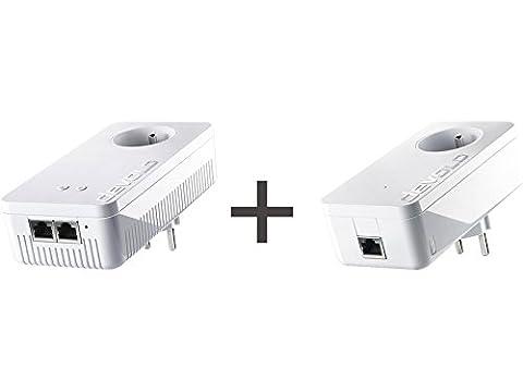Pack Devolo dLan 1200+ Wi-Fi AC + CPL dLAN 1200+ - Adaptateurs CPL 1200 Mbits