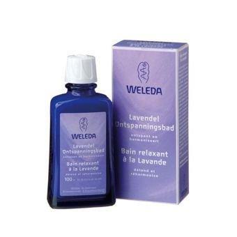 Bade-Öl Flasche (Weleda Lavendel Entspannung Entspannungsbad dezusatz 100 ml)