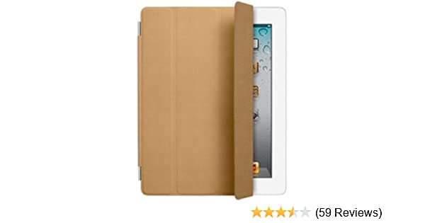 Smart Cover Reviews >> Apple Leather Smart Cover For Ipad Brown