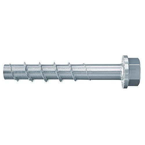 fischer ULTRACUT FBS II 8x80 30/15 US TX - Betonschraube zum Befestigen von Geländern, Metallprofilen, Regalanlagen in Beton - 50 Stück - Art.-Nr. 536853