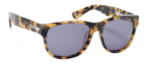 Hoven Sonnenbrille Big Risky - animal tort / grey 39-2601