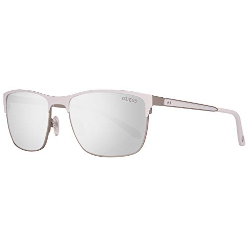 Guess Herren GU6878-5721C Sonnenbrille, Silber (Silver), 57