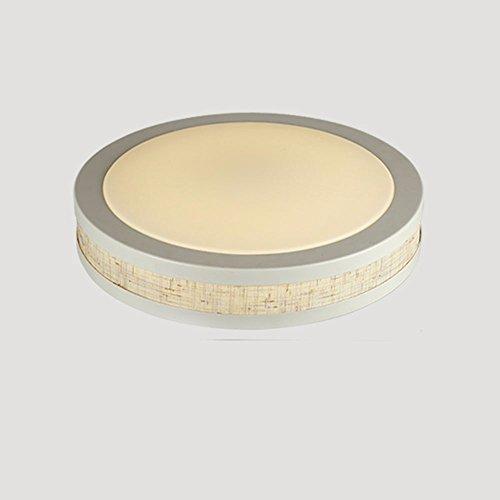 Beige Farbpalette (GZLIGHT Moderne LED Deckenleuchte Runde Beige Dimmen Farbpalette mit Fernbedienung 48 * 10 cm)