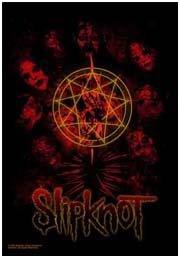 Slipknot - Skull 2 Textil-Poster, 76,2 x 101,6 cm