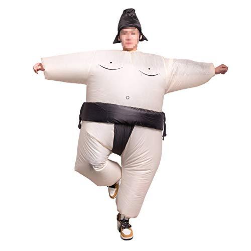 Feynman Sumo Ringer Kostüm Aufblasbares Kostüm Fettanzug Halloween Uniform Party Fasching Karneval Lustiges Kostüm, Erwachsene