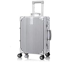 GJX Travelhouse Hard Shell ligero Travel Bagaje Suitcase-4 Rueda Spinner Trolley Bolsa , c , 28 inches (vertical)