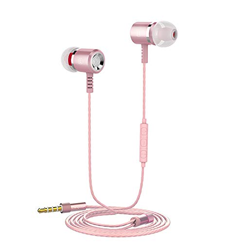 OPAKY Kontrabass Kopfhörer Mit Mikrofon Draht Kopfhörer, für iPhone, iPad, Samsung, Huawei,Tablet usw