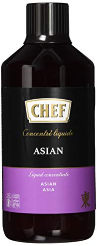 CHEF Flüssiges Konzentrat Asia, Geschmacksboost für Asiatische Gerichte, 100% Natürlicher Geschmack, vegan, 1er Pack (1…