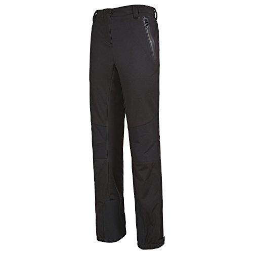 Trespass - Sola - Pantaloni da escursione in tessuto Softshell - Donna Nero