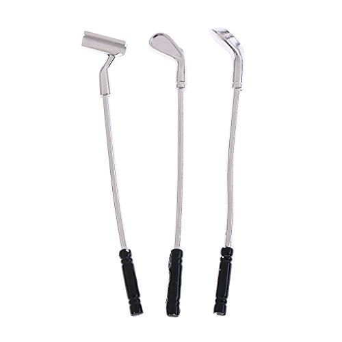 Homyl 1 10 Mini Golf Clubs Shafts Set for RC Axial SCX10 CC01 Rock Crawler Models