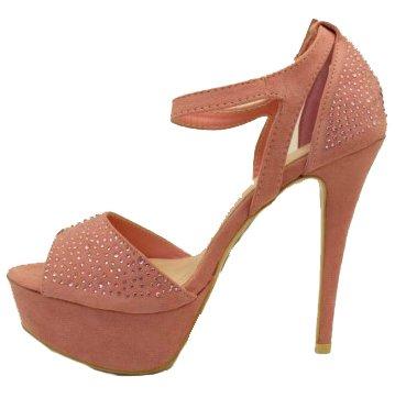 3-W-Hohenlimburg , Hi-Top Slippers femme Pink.