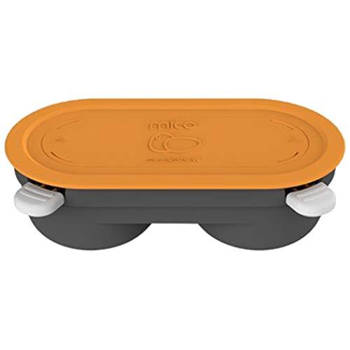 Morphy Richards 511649 Mico Eier-Pochierform für Mikrowellen, orange