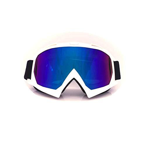 Aeici Sportbrille TPU+PC Radbrille Herren Brillenträger Radbrille Polarisiert Weiß Bunt