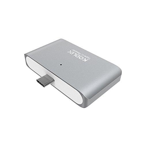 KODLIX USB 3.0 All in One Type-C OTG Ultra Thin Hub Smart TF/SD Card Reader Portable Micro USB Hub for OTG Equipment and Computer