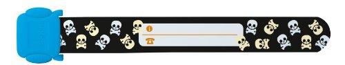 Kontakt Amazon Für Telefonnummer (Sigel ID009 Kinder-Sicherheits-Armband zum Beschriften, Totenköpfe, 19,7 cm lang)
