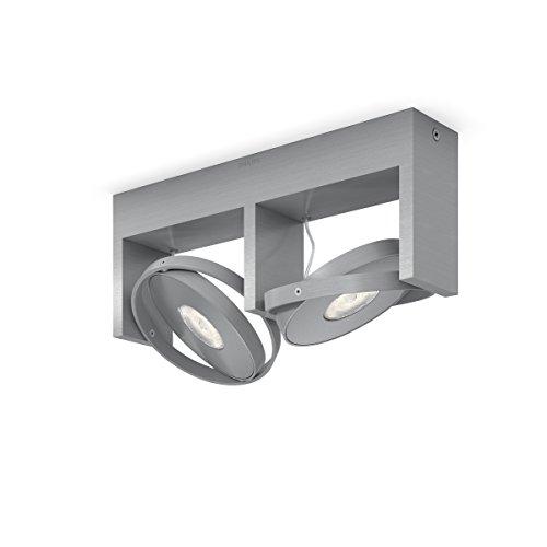 Philips myLiving Particon-Barra de Dos focos de Techo, LED Integrado,Consume 4.5 W,...