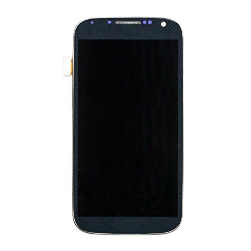 Pantalla LCD Reemplazo de Pantalla Táctil con Marco para Samsung Galaxy S4 I9505 de URNICE, Negro