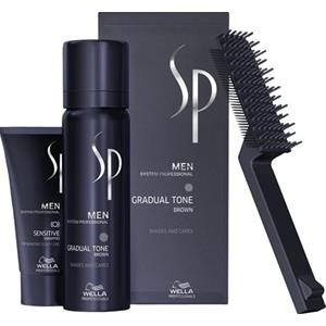 Wella SP Men Gradual Tone Brown 60 ml + Shampoo, 30 ml