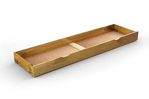 Under bed drawer sous Lit tiroir, DE Rangement sous Lit, lit (Chêne, 188 cm)