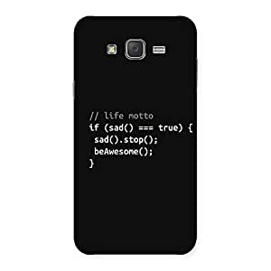 Gorgeous Programer Life Back Case Cover for Galaxy J7