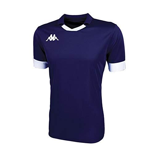 Kappa Tranio Camiseta de Equipación, Hombre, Azul Marino/Blanco 909, XL