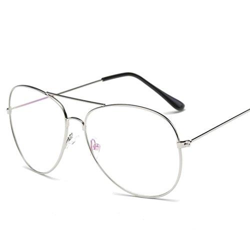 Männer Frauen Platz Vintage Spiegel Sonnenbrille Brillen Outdoor Sports Glasse Bunte Sonnenbrille Damen Brillen Unisex Metall Rand Rahmen Mode Sonnebrille Gespiegelte Linse Women Sunglasses (L)