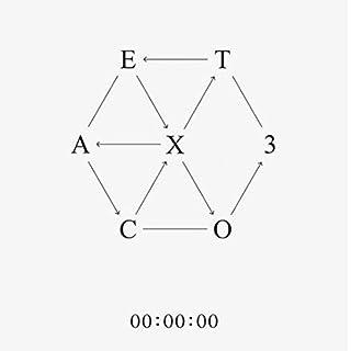 EXO - EX'ACT 3rd Album [Korean Lucky One Version] CD with 1 Folded Poster (Random) + 124page Fotobuch +1 Fotokarte (Random) + 4 Fotobuch Set
