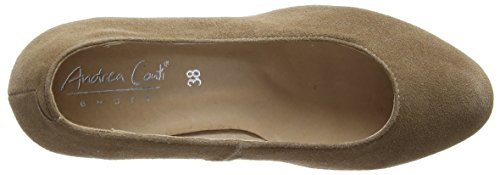 Andrea Conti 0596497, Chaussures Avec Plate-forme Femme Brun (braun (taupe 066))