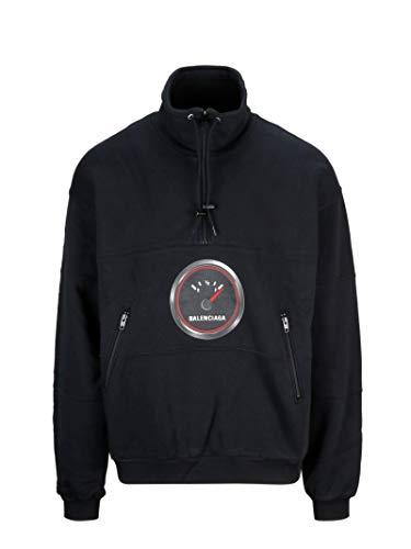 Balenciaga Herren 571188Tev571000 Schwarz Baumwolle Sweatshirt