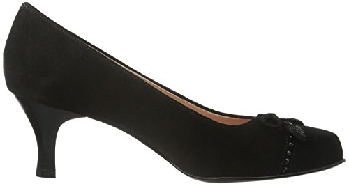 Diavolezza Damen Perla Pumps Schwarz (Black)