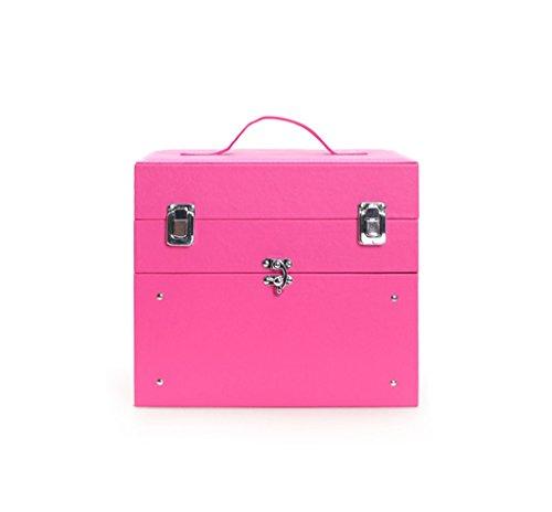 Borse personalizzate Elegante semplicità Nail Polish caso cosmetico multistrato professionale di grande capienza cassetti box (Strumenti Di Cucina Caso Del Pacchetto)
