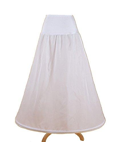 PJ Jupon crinoline hoopless mariage jupon crinoline bal de promo robe de mariée robe de bal mariage mariée robe glissement promo jupon slip mariage 1-hoop feuillet crinoline