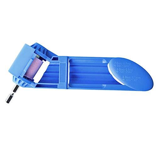 akaddy 2-12.5mm Portable Drill Bit Sharpener Corundum Grinding Wheel for Grinder -