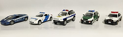 police-set-of-5-magazines-with-metal-models-in-scale-143-lamborghihi-gallardo-polizi-italy-nissan-35