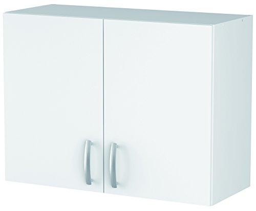 13Casa Nova 245196 A0 Armario colgante de cocina, blanco, alto: 80 cm
