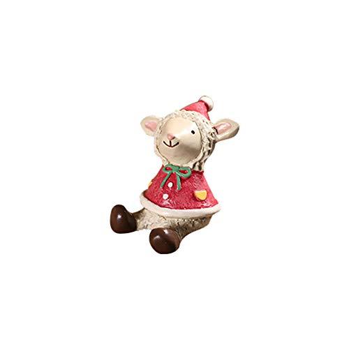 Mitlfuny✈✈✈DraußEn Drinnen Miniatur Harz Weihnachten Schneemann Ornamente DIY Outdoor Garten Dekor Home Geschenk