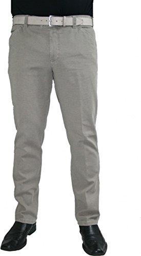 Meyer Hosen -  Jeans  - Chino - Basic - Uomo Grau 34