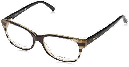 Tommy Hilfiger Unisex-Erwachsene TH 1017 Brillengestelle, Braun, 52
