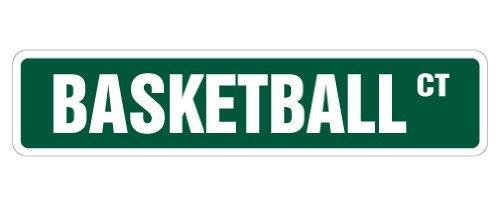 Lustige Dekorationsschilder Basketball Straßenschilder Hoop Net Coach Team Geschenk Schuhe Uniform Spieler Spiel Metall Aluminium Schild für Garagen Wohnzimmer -