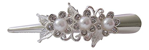 small-smooth-silver-tone-diamante-and-faux-pearl-flower-beak-clip-flower-crocodile-clip-by-pick-a-ge
