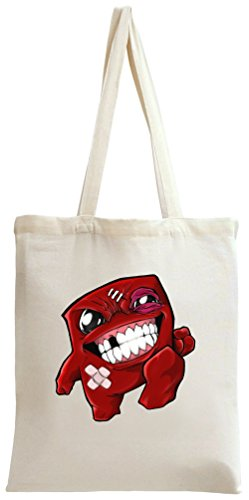 Super Meat Boy Zombie Tote Bag