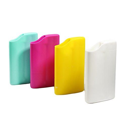 1 posacenere tascabile smookey ignifugo porta accendino bic j25 mozziconi vari colori