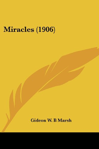 Miracles (1906)