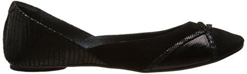 JONAK Disse, Ballerine Donna Nero (Black (Reptile/Noir))