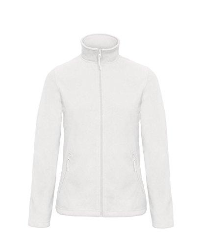 Damen Full Zip Microfleece - 10 Farben verfügbar - White - UK 14 / US 10 / EU 42 Limited Snowboard-jacke