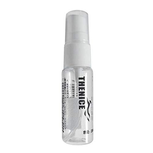 Jiobapiongxin Kleine transparente nachfüllbare flüssige Anti-Fog-Spray-Outdoor-Schwimmen Tauchen Spray für Goggles Schwamm JBP-X -