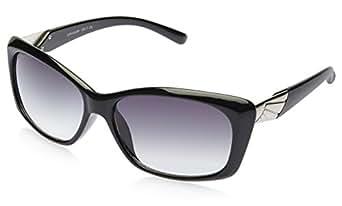 Lee Cooper Rectangular Sunglasses (Black) (LC-6123 C1 Free Size)