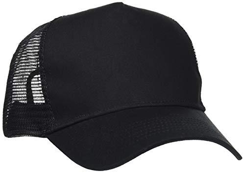 Beechfield Unisex B640.BLK Snapback Basecap, schwarz, Einheitsgröße
